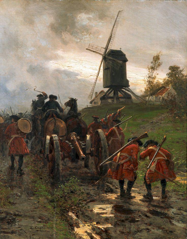 Gunners at Blenheim