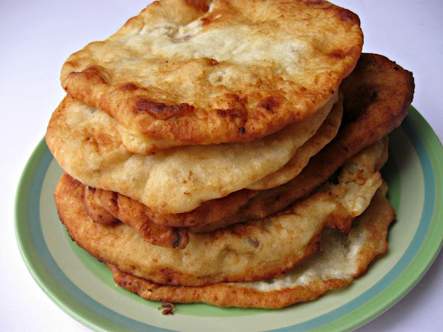 How to make Langos - Hungarian Fried Bread Recipe