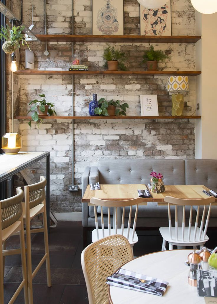 manchesters northern quarter has itself a new all day restaurant cut from a brooklyn - Restaurant Interior Design Ideas