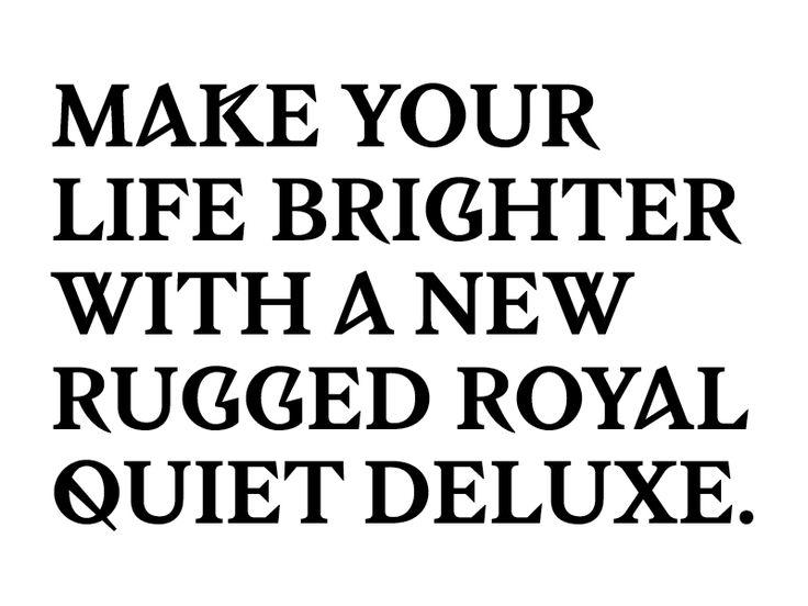large blog cambre typo hemingway03 Créations typographiques, LaCambre 2014