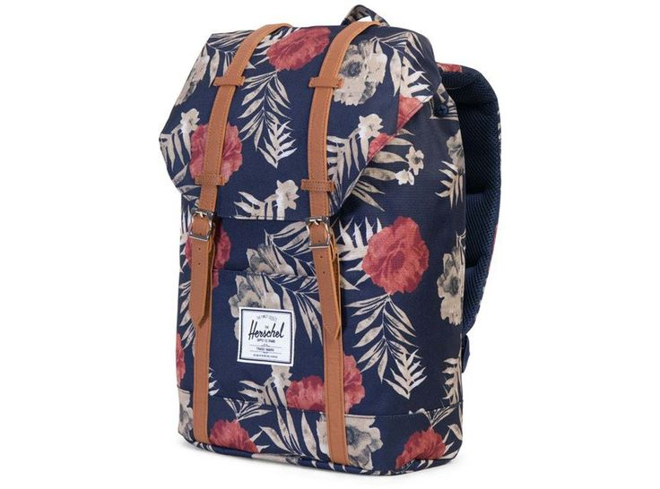 You really can't go wrong with a Herschel backpack. My favorite part? The straps are so comfortably padded. This one also has a padded, fleece-lined laptop sleeve—and it comes in so many colors and patterns, it's kind of hard to choose.