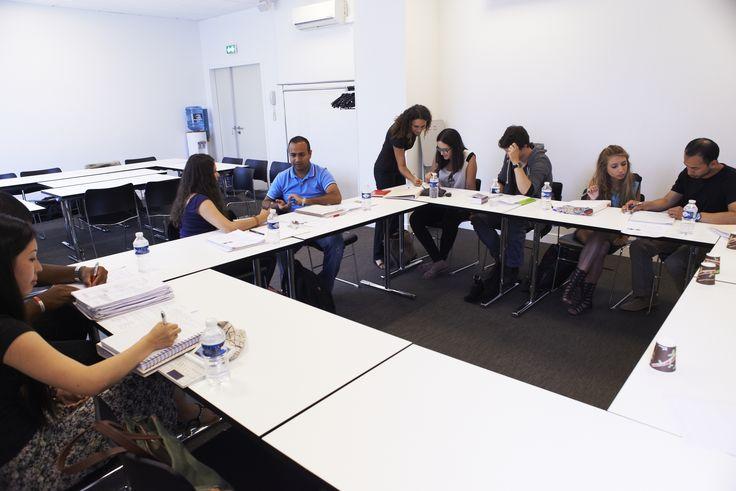 Paris Langues French courses - Une classe à Paris Langues