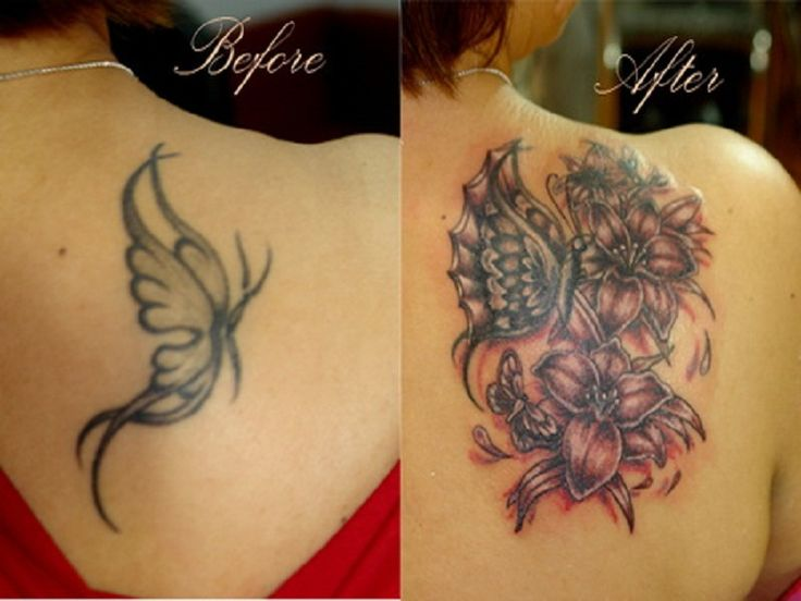 best coverup tattoos for cross | Cover up tattoo ideas to Cover Your Permanent Tattoo : Cool Tattoo ...
