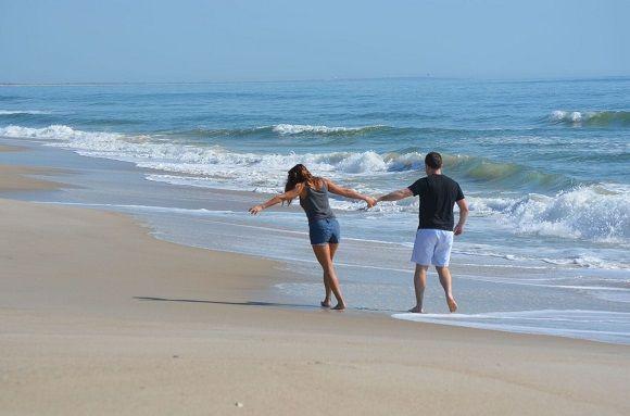 Bald Head Island Beach Walk