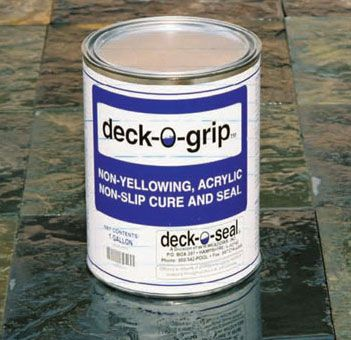 DECK-O-GRIP Concrete and Tile Deck Sealer