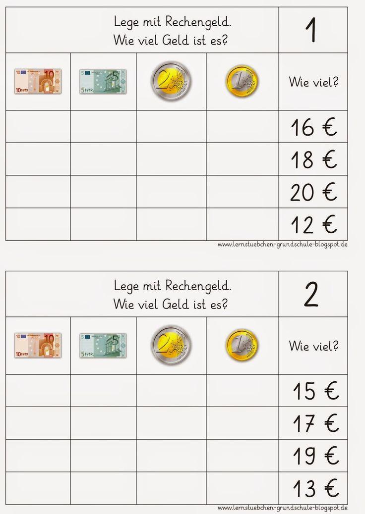 Lernstübchen: Rechenfutter rund ums Geld (2)
