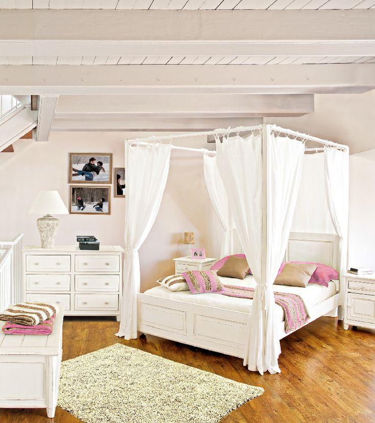 Trasforma la tua #camera da letto in un rifugio anti stress.  Linea Colette, Bizzotto.
