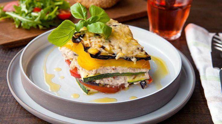 Groentenlasagne met paprika en courgette | VTM Koken
