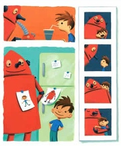 Great contest for the awesome picture book Boy + Bot by Amy Dyckman (I SO love robots!)