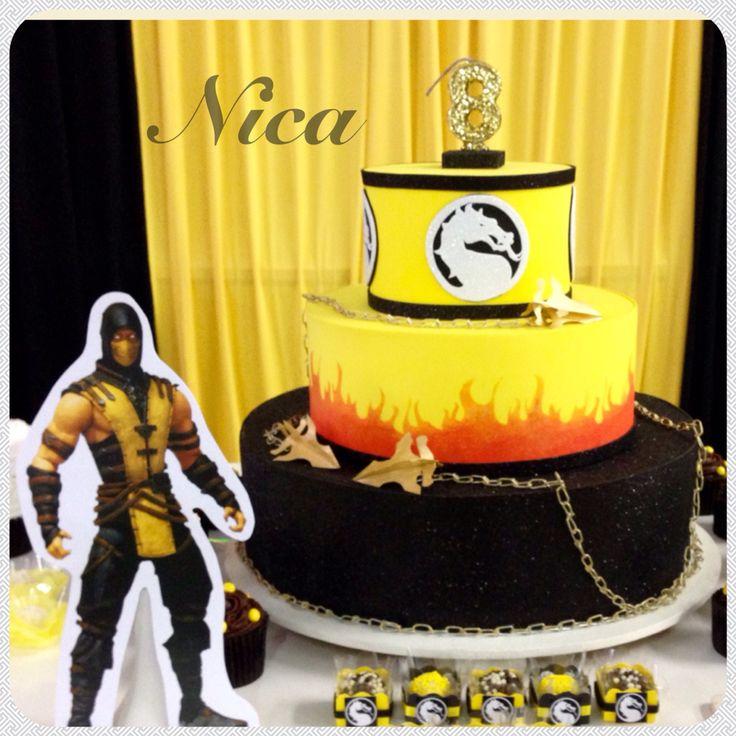 Mortal Kombat X Scorpion Cakes Pinterest Mortal Kombat