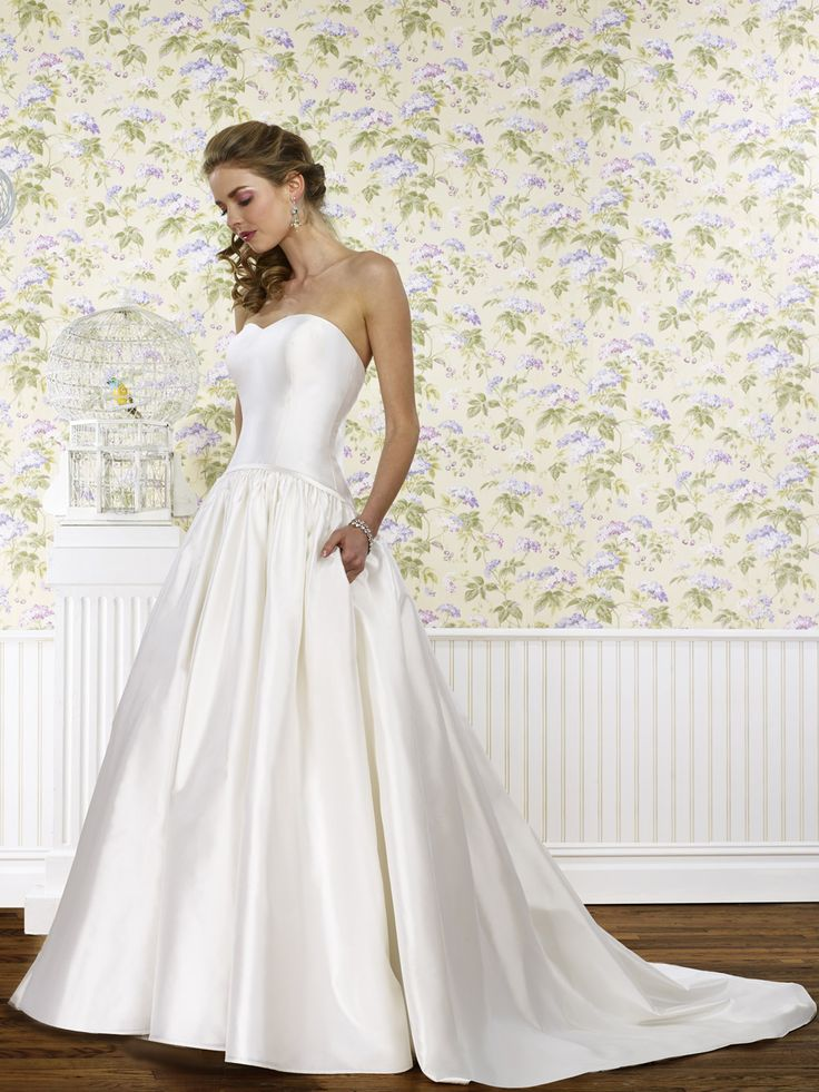 The Steven Birnbaum Collection- Leanne wedding gown, available at Something White, A Bridal Boutique