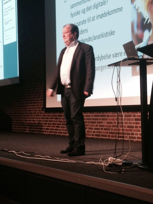 Carsten Beck, Inst for Fremtidsforskning: skarpe pointer, god entertainer, grasper komblexitet og branchekendetegn.