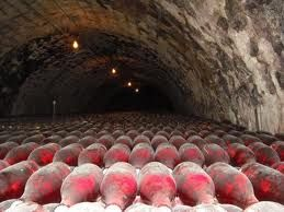 Rose champagne Cave,Epernay France