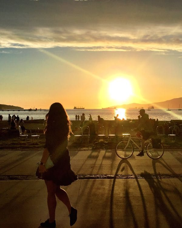 Vancouver�s Best Beaches for Sunset
