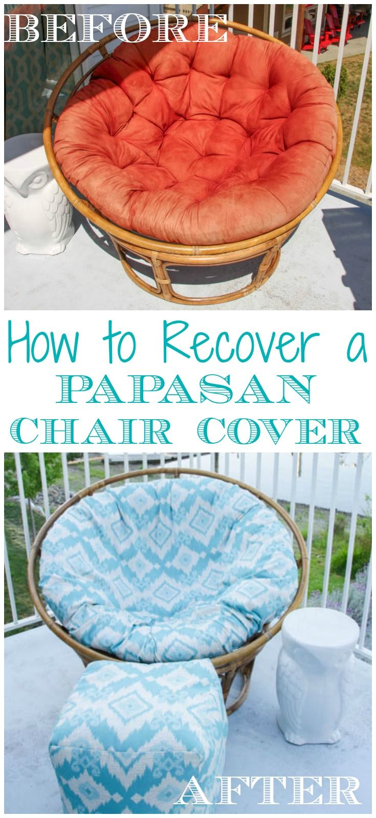 The 25 best papasan chair ideas on pinterest zen Papasan cushion cover