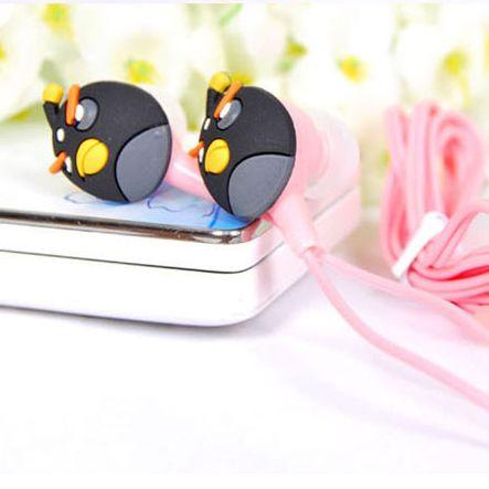 Наушники вакуумные Angry Birds черные