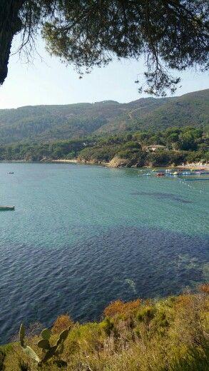 Spiaggia di Straccoligno... Isola d'Elba
