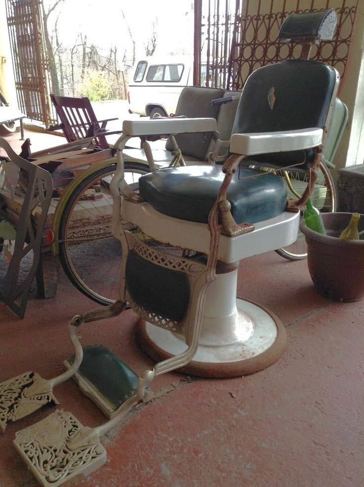 Vintage Koken Barber Chair  - Y01177