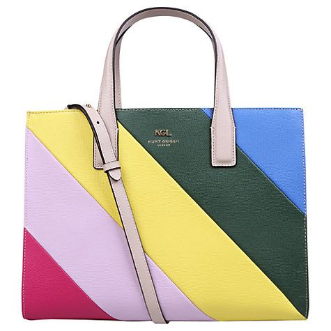 Kurt Geiger New Saffiano London Leather Tote Bag