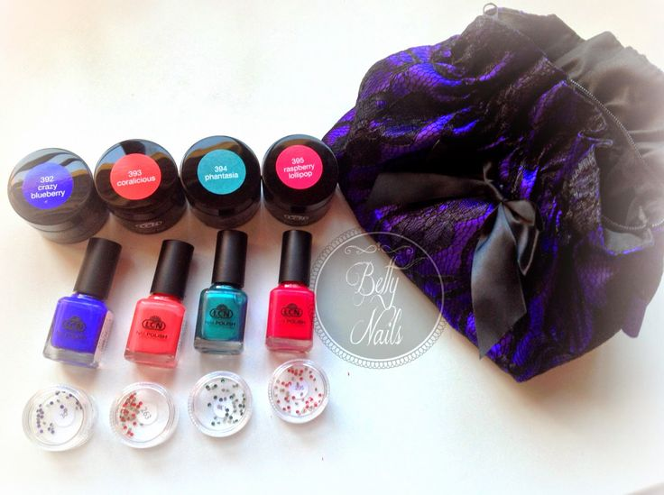 Betty Nails: NEWs | LCN New Products for this trimester