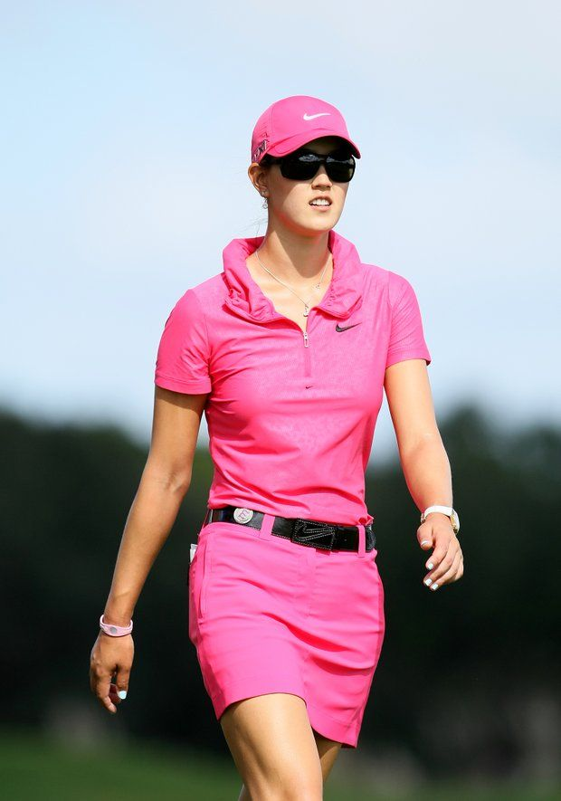Instead of Ricky fowler on Sundays in all orange it will be me in ALL PINK:)