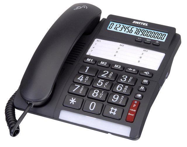 Festnetztelefon Tf535 Products In 2019 Telefon Netz Und Schwarz