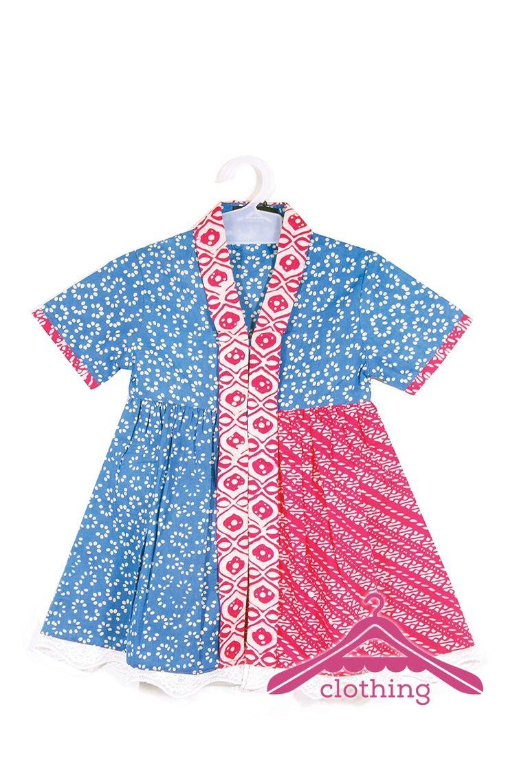 Jual Online : Baju Anak 03 Batik Garutan Kombinasi 2 Motif - A-Clothing.com