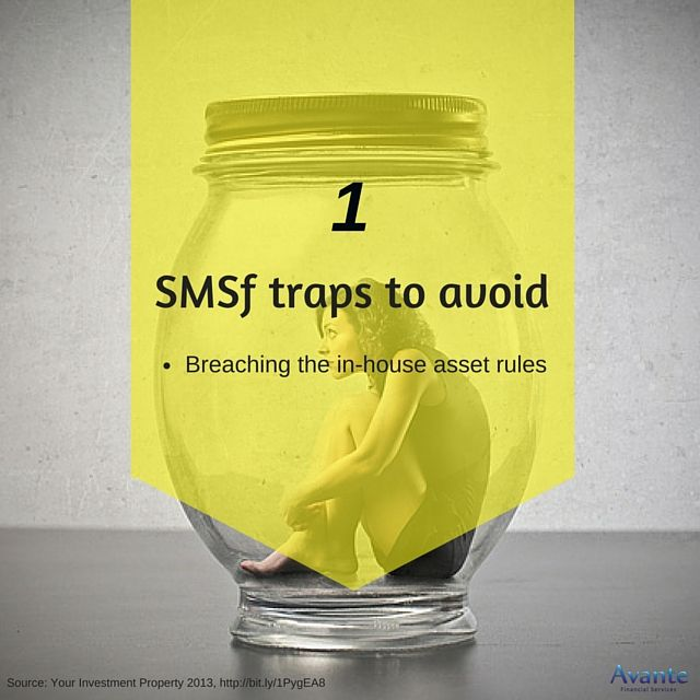 Tactic Tuesday: Avoid SMSF traps. Tip#1  #BreachingRules #Avante  www.avantefinancial.com.au