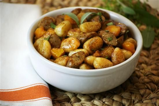Cinnamon Gnocchi with Roasted Butternut Squash and Sugarhouse Maple ...