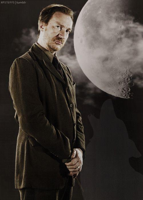 David Thewlis as Professor Lupin.
