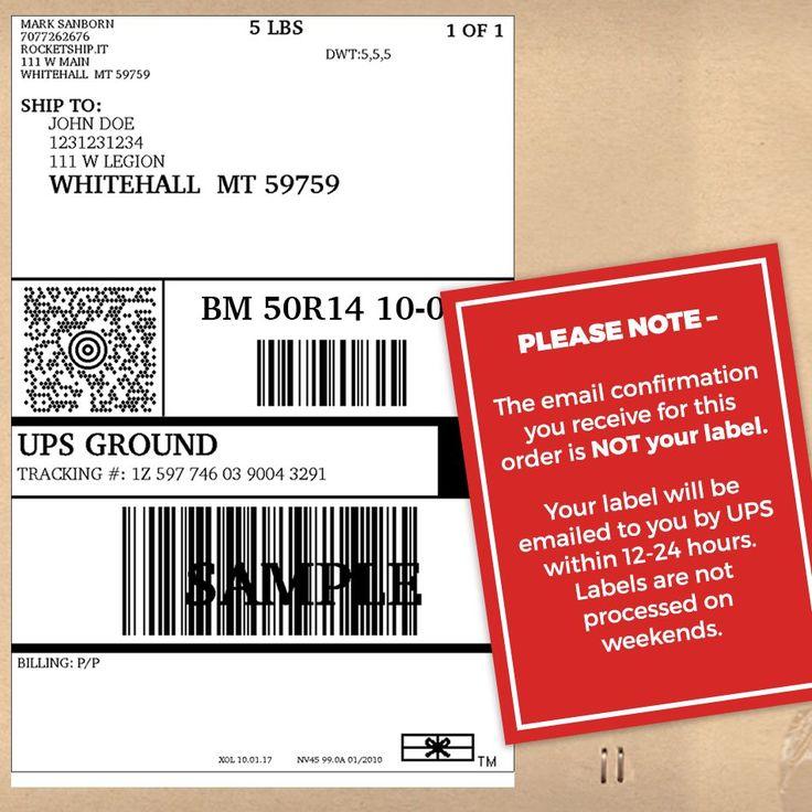 25+ melhores ideias de Shipping label no Pinterest Etiquetas de - shipping label