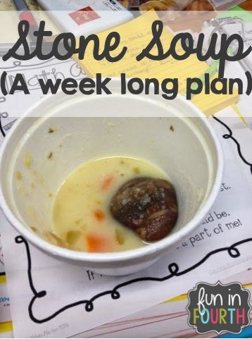 A week long plan for doing a Stone Soup in your classroom.                                                                                                                                                                                 More