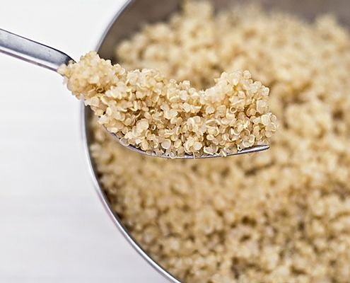 This is BY FAR the best way to make Quinoa! The only substitute was I used the multi-colored Quinoa. Yummy!!