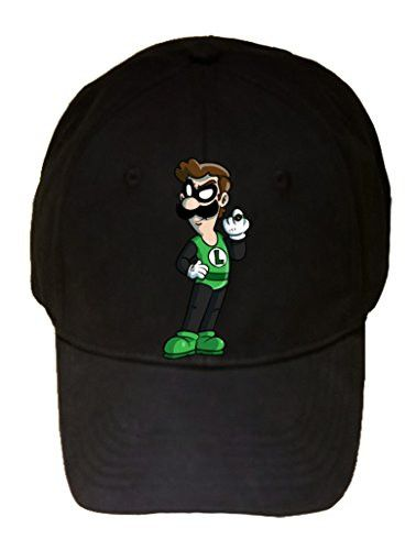 'Plumbers League of America' Green Guy w/ Ring Character Funny Video Gam...