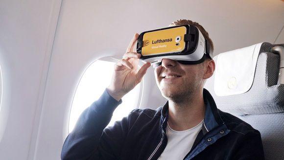 Um ihren Kunden Lust auf ein Upgrade zu machen, setzt Lufthansa Augmented Reality ein - nur ein Beispiel, wie der Luftfahrtkonzern die neuen Technologien erfolgreich für sich nutzt.
