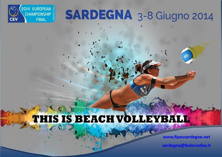 EUROPEI BEACH VOLLEY 2014 – POETTO – QUARTU S.ELENA – 3-8 GIUGNO 2014