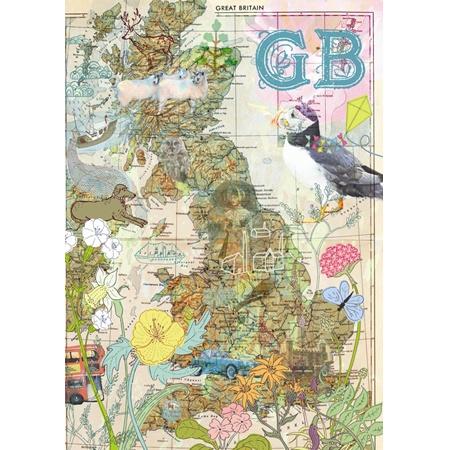 14 best British Maps images on Pinterest  British isles