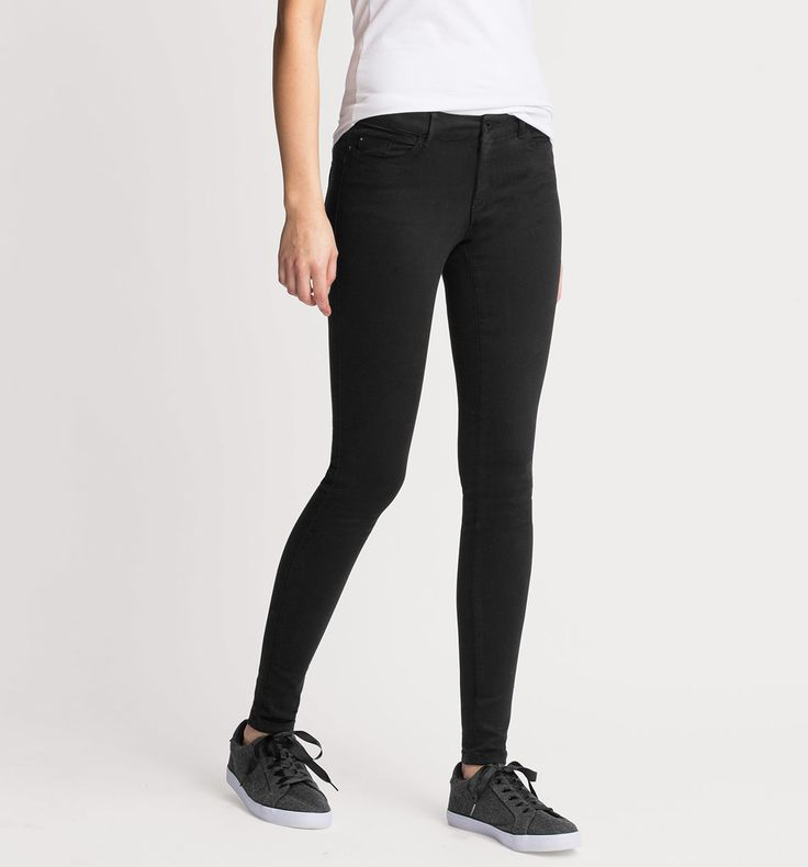 Super Soft Skinny-broek in zwart