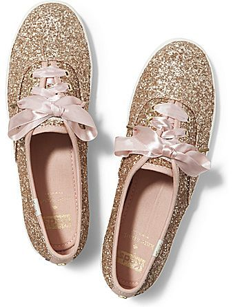 Keds Keds x kate spade new york Champion Glitter    I've been wanting these for so long, still waiting