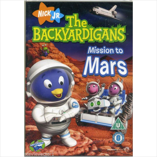 the backyardigans mission to mars book - photo #2