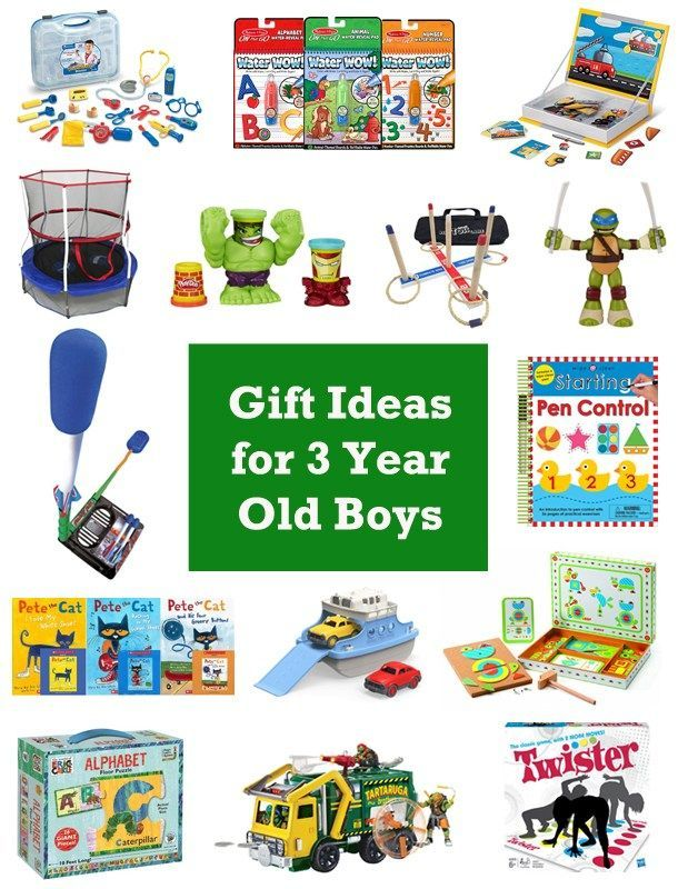 Christmas gift ideas for 3 year old boys - 15 Gift Ideas For 3 Year Old Boys Gift Ideas Pinterest Gifts