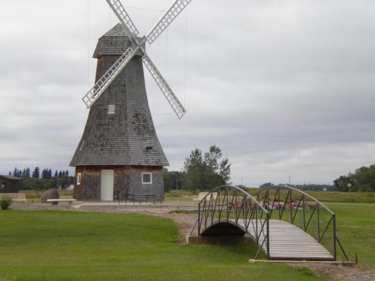 Windmill at Holland, Manitoba