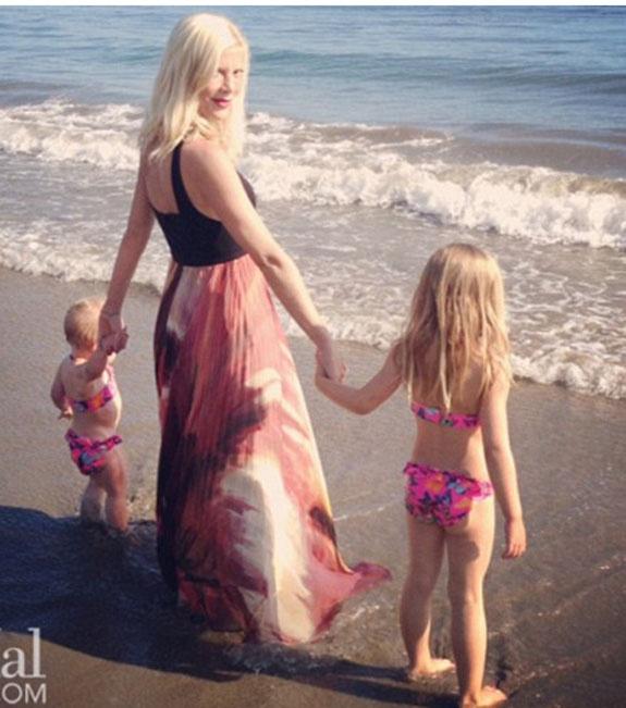 Tori spelling Mother's Day photos | @OK! Magazine