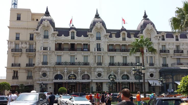 Monte Carlo, France - Monte Carlo Casino (you can almost smell the money...) - Mediterranean Cruise