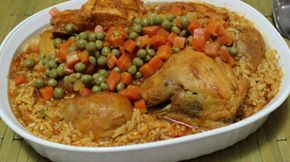 """I'm amazed to see the similarities we find in one same recipe that we consider traditional or native to our own country. """"Arroz con Pollo"""" (chicken and rice) is the perfect example of what I just mentioned, a dish that is consumed in every Latin American home. And even though its preparation and presentation varies in every country, we all use common basic ingredients to give it that authentic taste and personal touch. In my home, we usually prepare two delicious versions of arroz con…"""