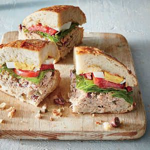 This French favorite makes al fresco dining easy. Put together this sandwich before breakfast, and let it sit long enough to let the flav...