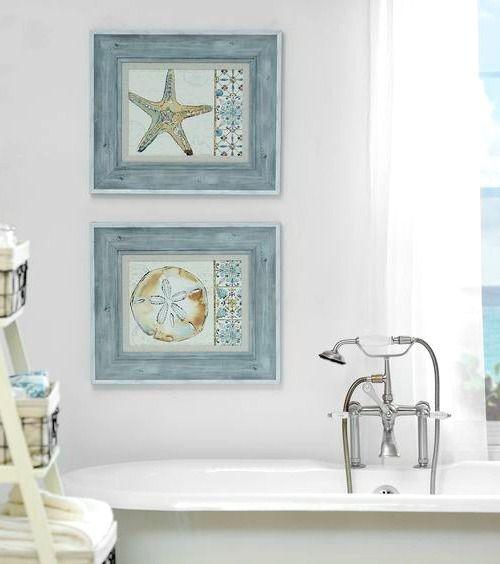 title | Coastal Bathroom Wall Decor
