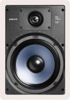 """Polk Audio - RC85i 8"""" In-Wall Speakers (Pair) - White - Larger Front"""