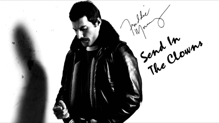 Freddie Mercury - Send in the clowns RARE! Freddie Mercury doing a piano cover of the famous song written by Stephen Sondheim.The track originates from a tape that Jim Hutton(Freddie's last lover) recorded...it was recorded somewhere around 1985/1986.