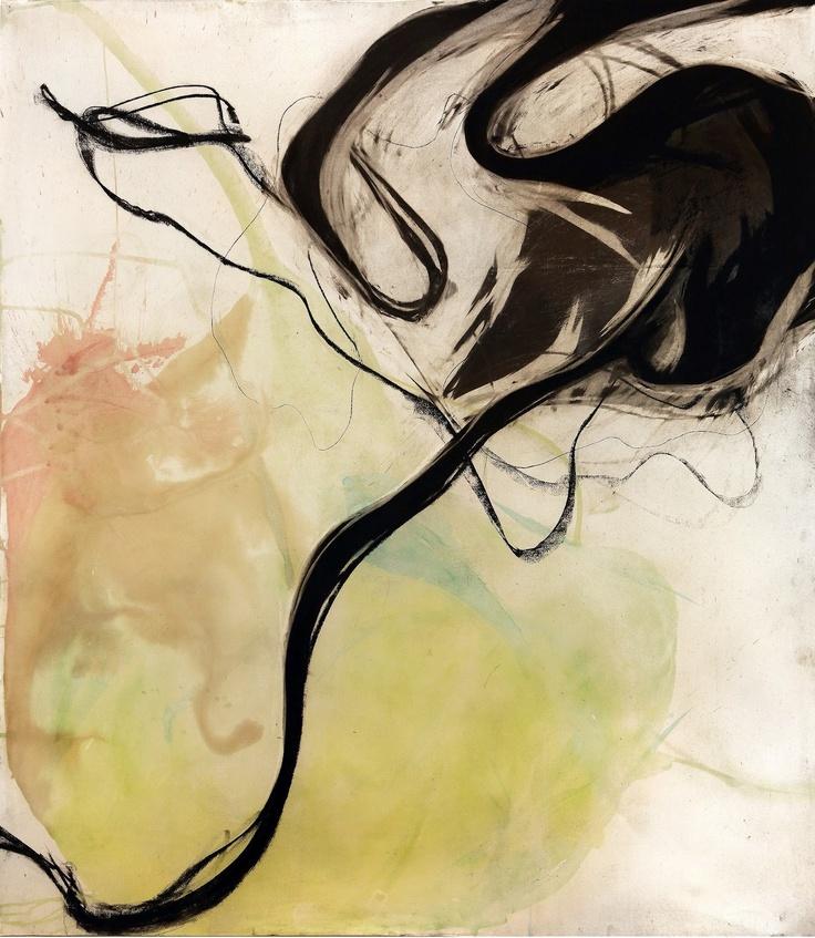 Eccellenti Pittori non è sinonimo di Eccellenti Figurativi: ogni genere pittorico è benvenuto purché si manifesti nell'eccellenza. E' il caso dei quadri astratti di Veizaj.Eldi Veizaj, L'armonia degli opposti. Acquerello e carboncino su carta, 150x170cm, 2011.
